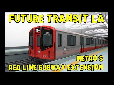 LA Metro Red Line Elevated Extension to the 105 Ⓜ️ Future Transit USA