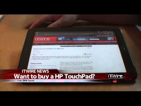 Want to buy HP TouchPad? For $99 sure!
