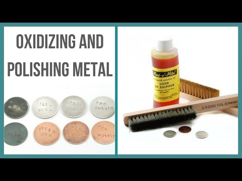 Oxidizing and Polishing Metal - Beaducation.com