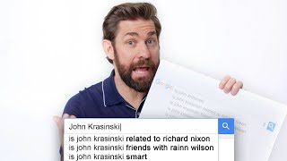 John Krasinski Answers the Web