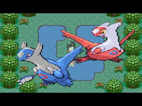 How to find Latios or Latias and Southern Island in Pokemon Emerald (w/Gameshark)