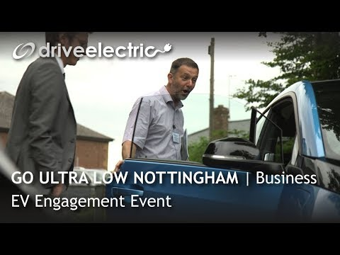 Go Ultra Low Nottingham Business EV Engagement Event | Drive Electric