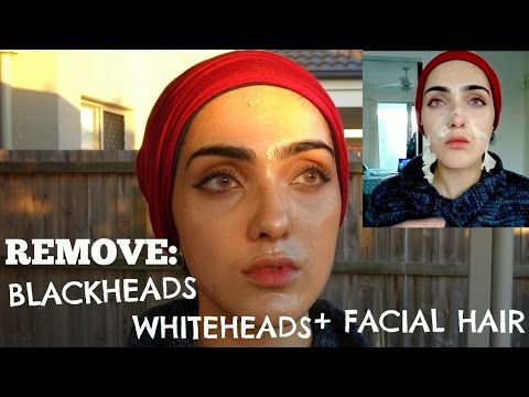 How to REMOVE Blackheads, Whiteheads & Unwanted Facial Hair AT HOME | DIY Peel Off Mask ~ Immy