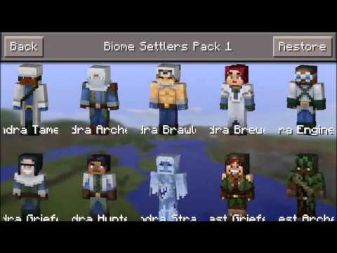 Minecraft Pocket Edition All Skins Free Hack / Cheat iOS New