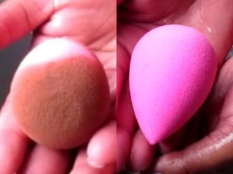 How To Clean A Beauty Blender In 2 Minutes