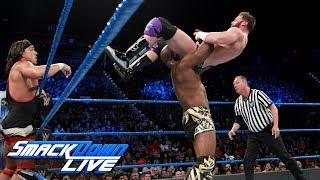 Chad Gable & Shelton Benjamin vs. The Hype Bros: SmackDown LIVE, Sept. 12, 2017
