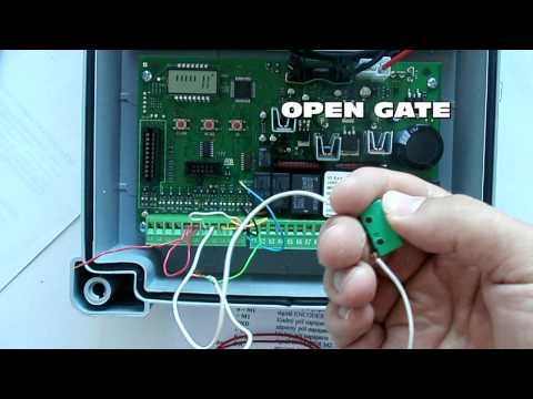 How to program a automatic gate (new)