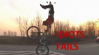 🌟🔷FUNNY IDIOTS FAILS Compilation🔷🌟 - Stupid People, Fail Stunts and More