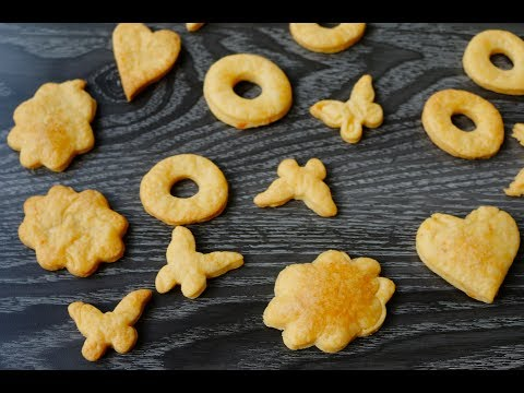 Easy How to Make Cheddar Cheese Crackers at Home