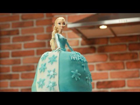 FROZEN, Tort Elsa, Elsa cake, tort Lalka, Princess doll cake