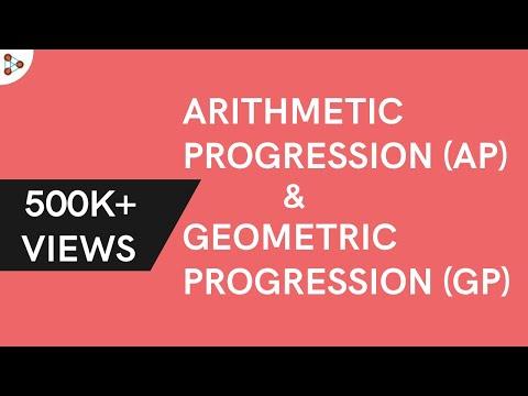 Arithmetic Progression and Geometric Progression ( GMAT / GRE / CAT / Bank PO / SSC CGL)