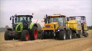 JCB, NH and a Claas outfit
