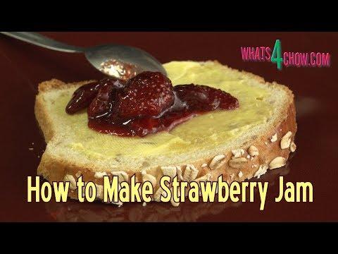 How to Make Strawberry Jam - Whole Strawberry Jam Recipe