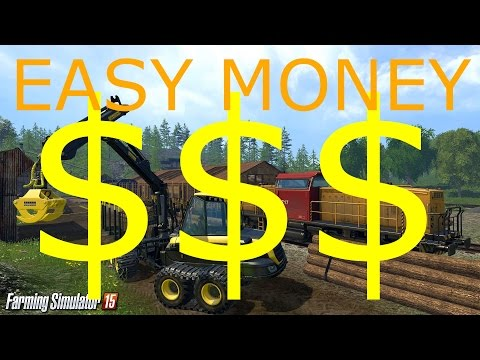 Farming Simulator 15 - Easy Money Trick! No mods/hacks!