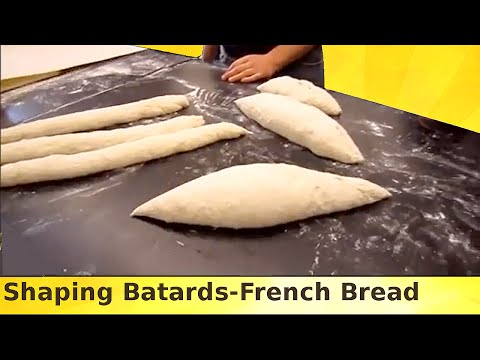 How to Shape Bread Dough - Batards - French Bread - Torpedo Loaf - Shaping
