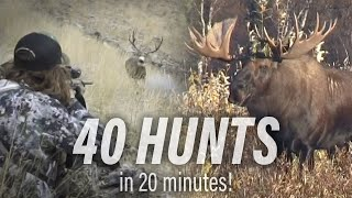 40 Rifle Hunts in 20 Minutes! Eastmans' Hunting Journal