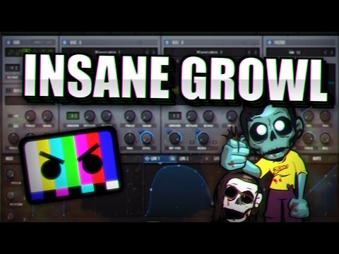 INSANE BARELY ALIVE / ZOMBOY SERUM GROWL TUTORIAL [FREE PRESET]