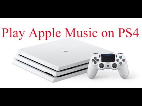 How to Stream Apple Music on PlayStation 4