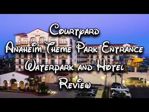 BEST DISNEYLAND HOTEL | Courtyard Anaheim Theme Park Entrance Review