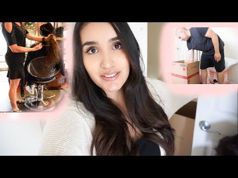 Cutting My Long Hair! & More Packing | A Week In My Life