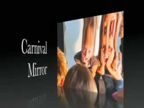 Carnival Mirror The Original Fun House Distortion Mirror  2012 Halloween Prop and Display