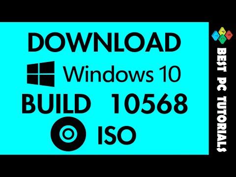 Download Windows 10 Build 10568 ISO