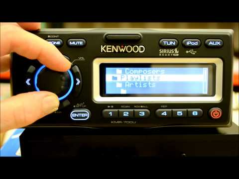 Kenwood KMR 700u Marine Reciever Review