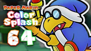 Paper mario color splash 60 fishing for trouble for Mario go fish