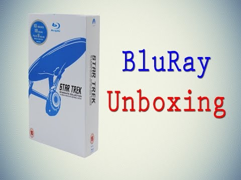 Star Trek: Stardate Collection - The Movies 1-10 [Blu-ray Unboxing]