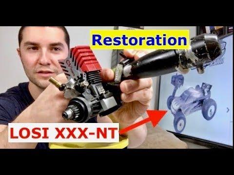 LOSI xxx-nt RESTORATION (siezed engine tear down) (part 2).