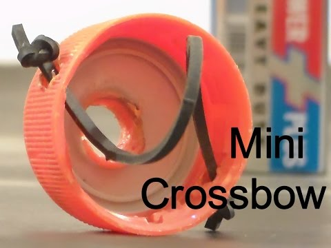 DIY - Mini Crossbow Homemade Survival Hack - Crafts For Kids - Hacks For Real Life