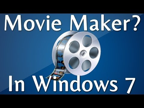 How to Find Windows Movie Maker In Windows 7