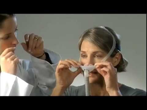 ResMed Swift FX Nasal Pillow System   Fitting Cleaning & Usage