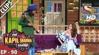 Chandu meets Anushka Sharma - The Kapil Sharma Show - 18th Mar 2017