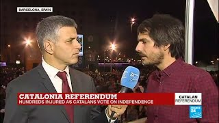 """Catalan Referendum: """"What happened today was unacceptable"""""""