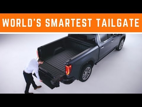 2019 GMC Sierra MultiPro Tailgate Demo: The World's Smartest Tailgate