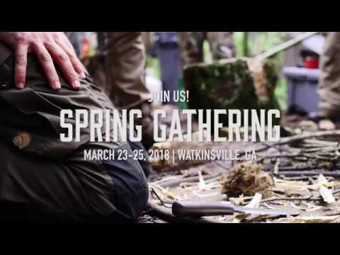 Georgia Bushcraft Spring Gathering Promo