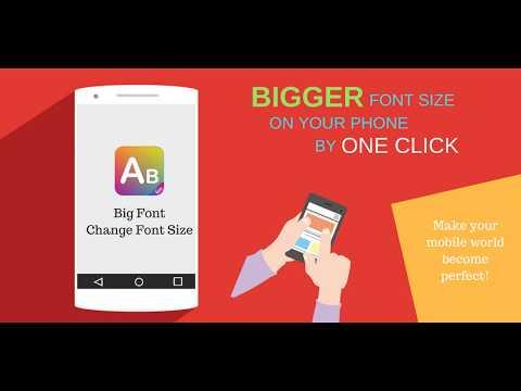 Big Font - Change Font Size - ECO STUDIO