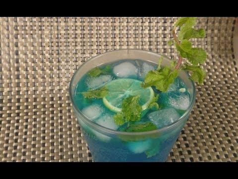 Blue Curacao Lemonade | Sanjeev Kapoor Khazana