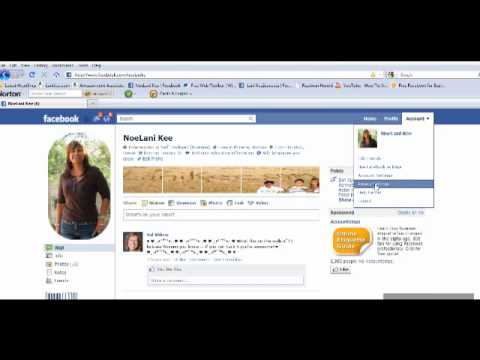 Disable Facebook Profile FriendList From Being Publicly viewed 2011