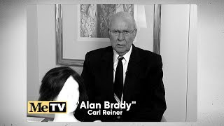 """Alan Brady Returns"" - Carl Reiner of 'The Dick Van Dyke Show' - MeTV"