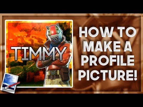 HOW TO MAKE A FORTNITE YT PROFILE PICTURE/ICON WITH PAINT.NET - NO PHOTOSHOP REQUIRED FREE & EASY v6