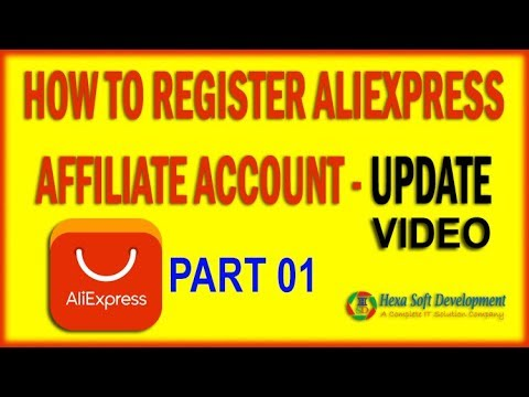 How to Register AliExpress Affiliate Account Bangla Tutorial | Aliexpress ePN Signup | Part 01