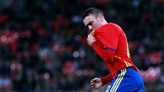 Selección Española | El debut soñado de Iago Aspas