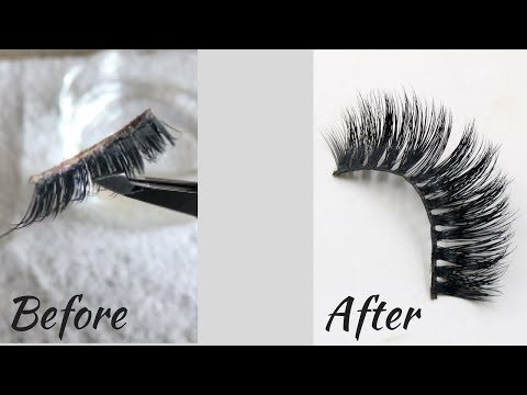 How To Clean False Lashes | Keep Them Lasting Longer | Ashley Marie
