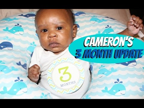 Cameron's 3 Month Update | Circumcision, Vaccines and More