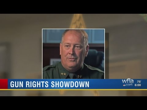 Sarasota County Sheriff and Circuit Court Judge at odds over concealed weapons