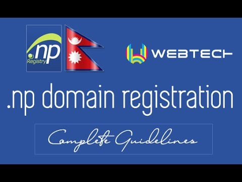 How to register .com.np, .org.np or any .np ccTLD domain registration in Nepal - Complete Guidelines