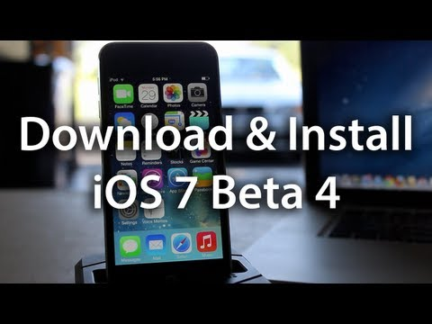 Download & Install iOS 7 Beta 4
