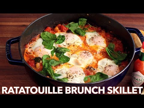 How To Make Spicy Ratatouille Brunch Skillet